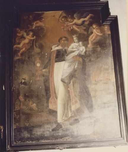 Tableau : saint Hyacinthe, huile sur toile