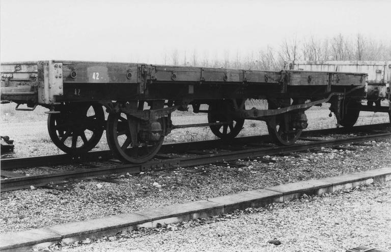 Wagon plat deux essieux 1913