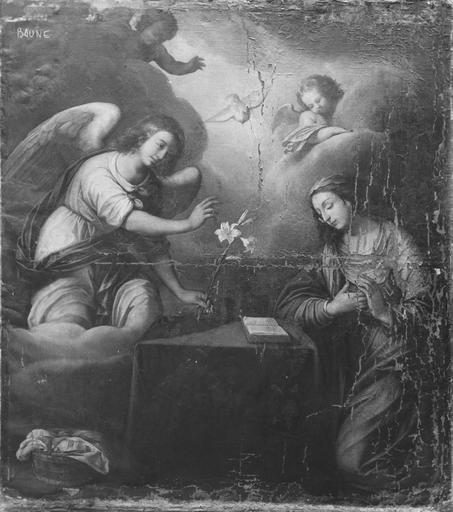 Parement d'autel : l'Annonciation