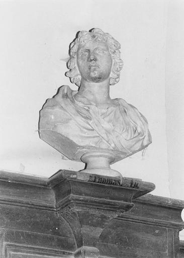 Buste de saint Thomas, pierre, fin 18e siècle