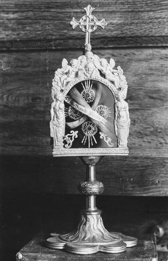 Reliquaire de saint Blaise, cuivre argenté
