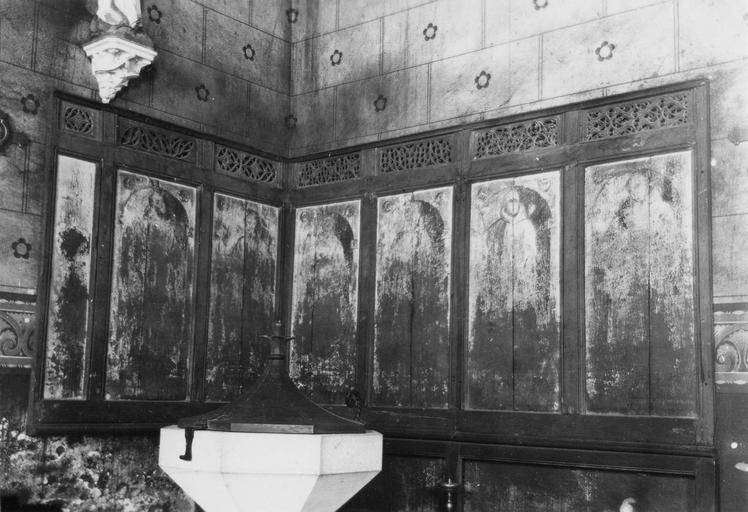 Stalles et boiseries provenant du prieuré d'Epoisses, bois