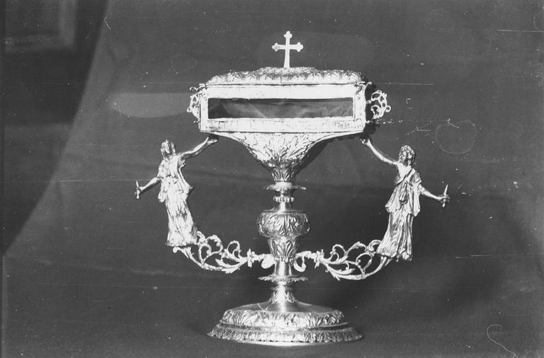 Reliquaire de saint Ursin, argent, 1737