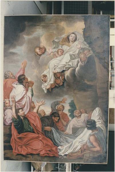 Tableau : Assomption de la Vierge (l'), vue générale