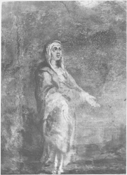 Peinture monumentale: Crucifixion (la), détail