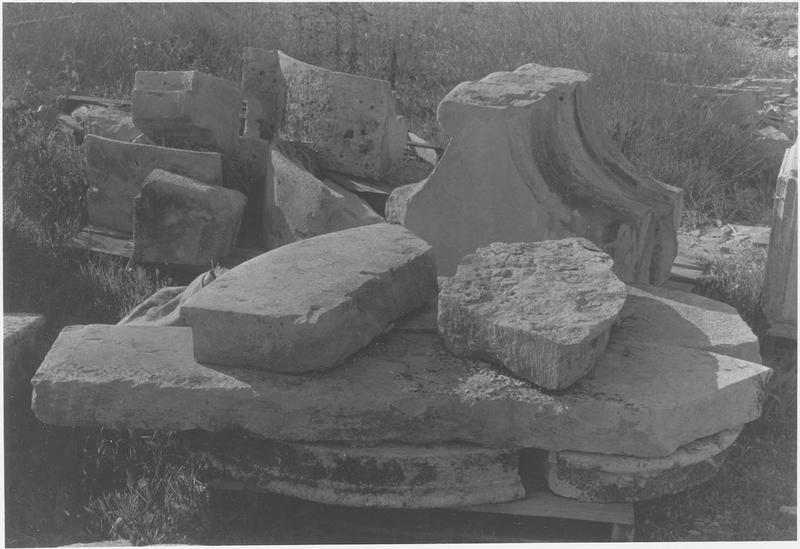 Fragments lapidaires, vue générale