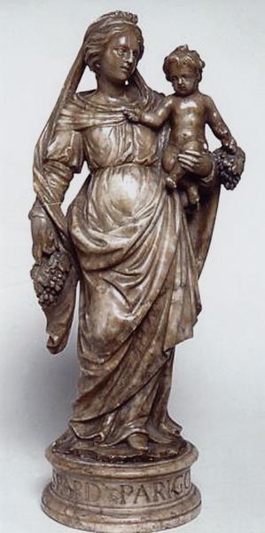 Statuette : Vierge à l'Enfant (numéro d'inventaire : 87 GHC 61)
