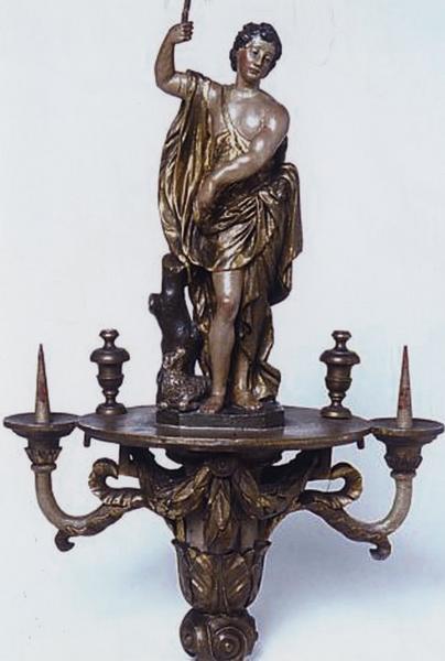 Bâton de procession : saint Jean-Baptiste (numéro d'inventaire : 87 GHC 243)