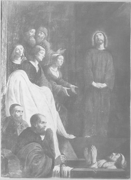 Tableau : la Résurrection de Lazare