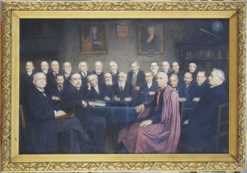 Tableau et son cadre : une séance à l'Académie de Dijon