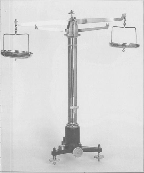 Balance hydrostatique
