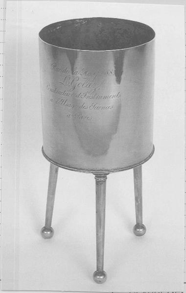 Instrument de mesure des quantités de chaleur : calorimètre
