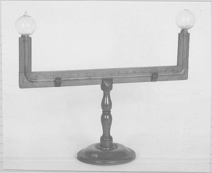 Thermomètre différentiel ou thermoscope de Rumford