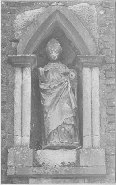 Statue : saint Léger