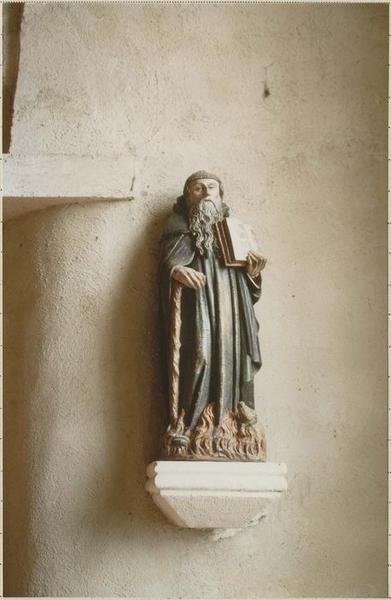 Statue : saint Antoine, vue générale