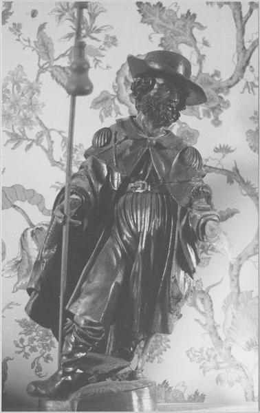 Statue : saint Jacques le Majeur, vue générale