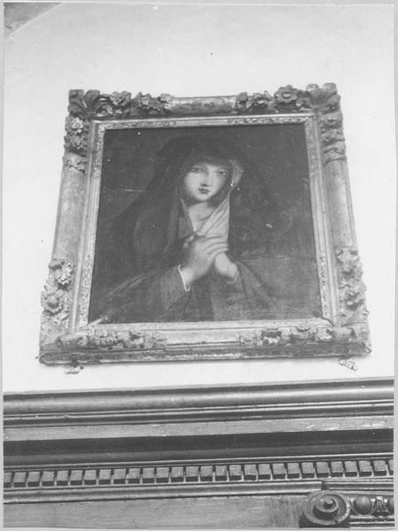 Tableau : la Vierge de douleur, vue générale