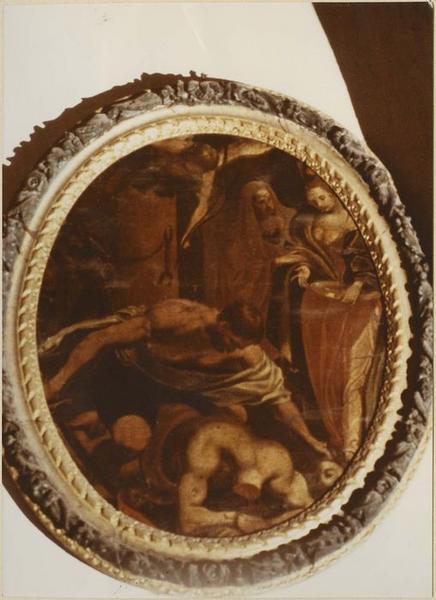 Tableau : la Décollation de saint Jean-Baptiste, vue générale