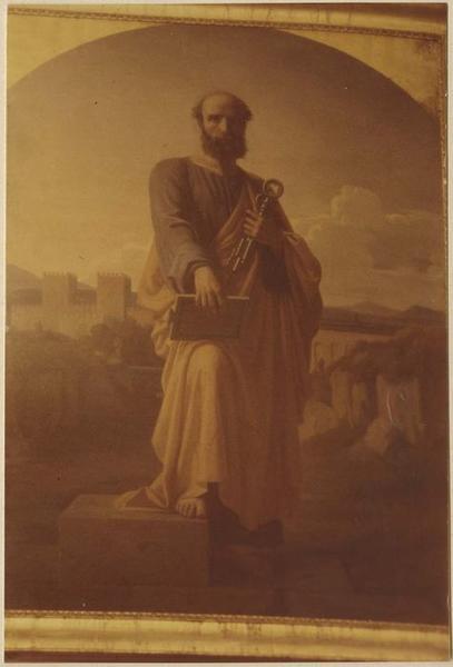 Tableau : saint Pierre, vue générale