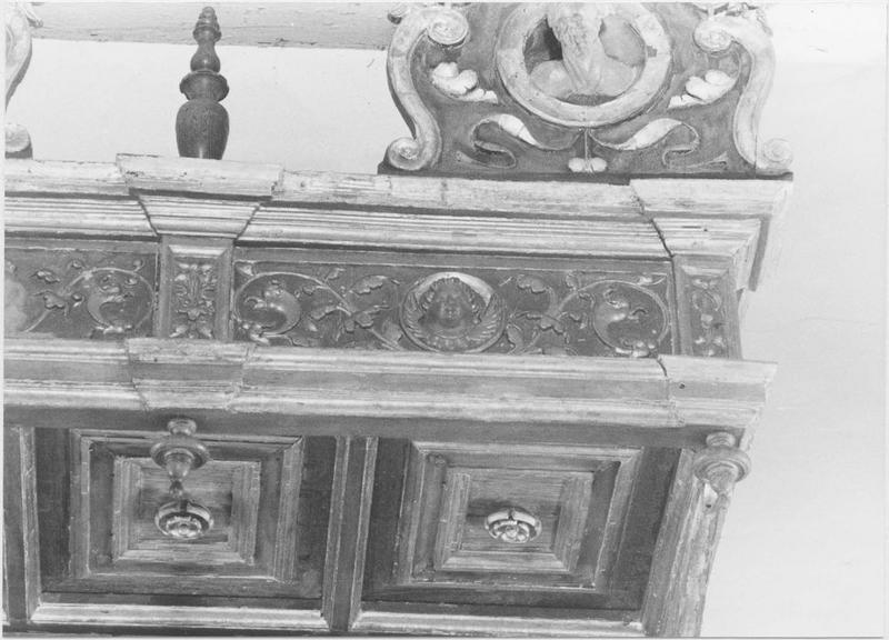 Baldaquin du maître-autel, détail