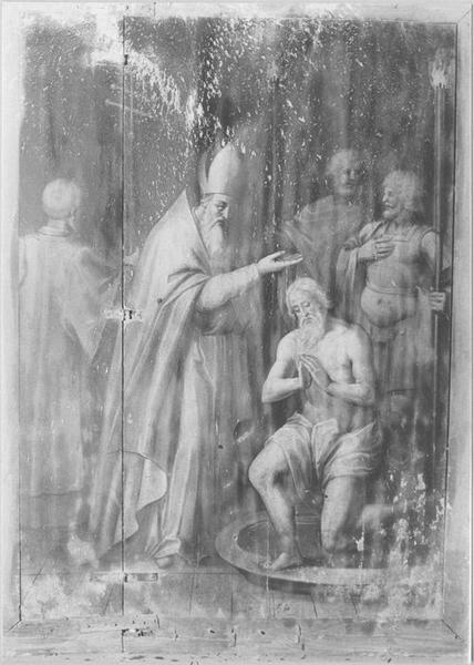 tableau : le Baptême de Clovis, vue générale