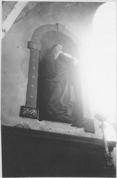 Statue : saint Gall, vue générale