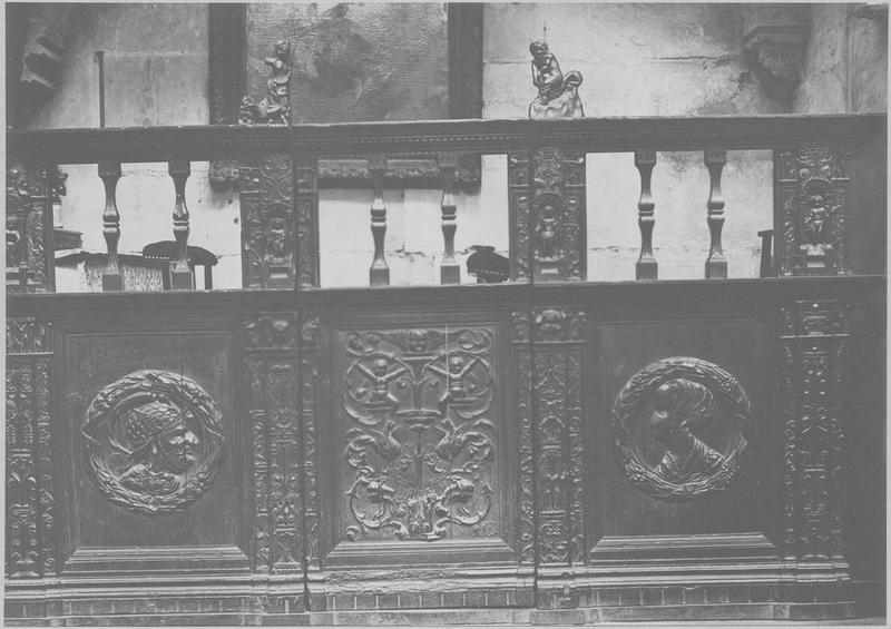 Clôture de chapelle, vue générale