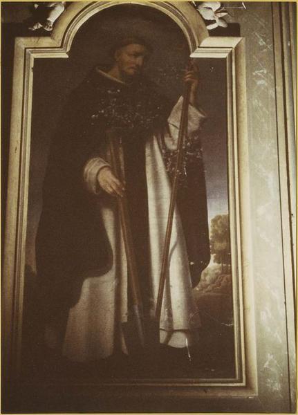 Tableau : saint Fiacre, vue générale