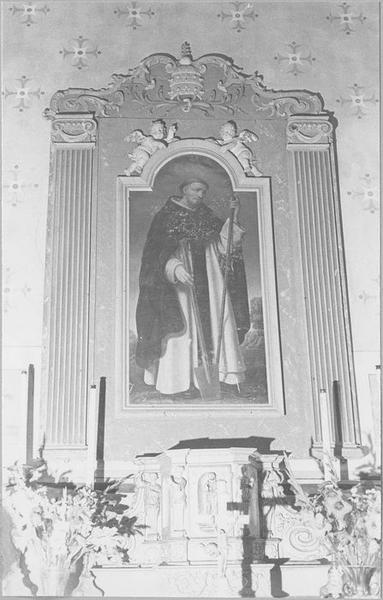 Retable de saint Fiacre, vue générale