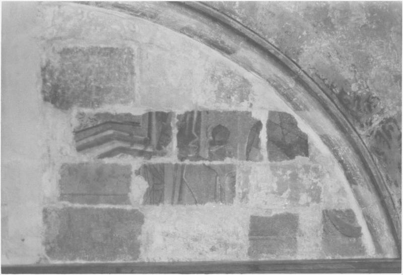 Peinture monumentale, 3ème travée sud, vue partielle