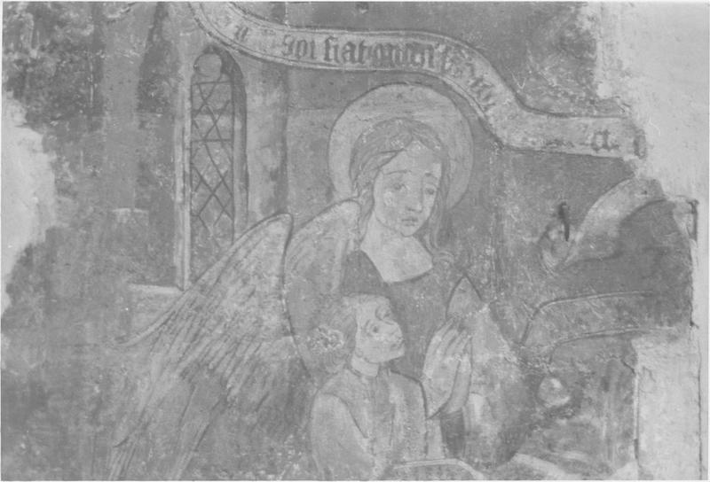 Peinture monumentale, 3ème travée nord, détail
