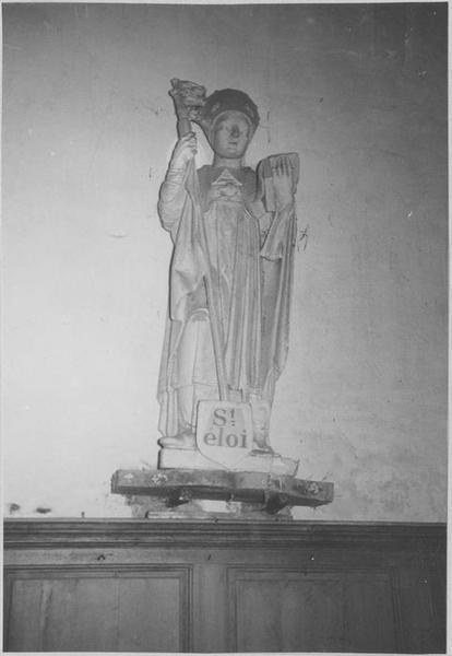 Statue : saint Eloi, vue générae
