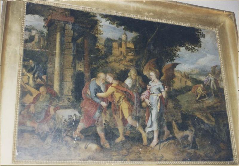 Tableau : Raphaël et Tobie, vue générale