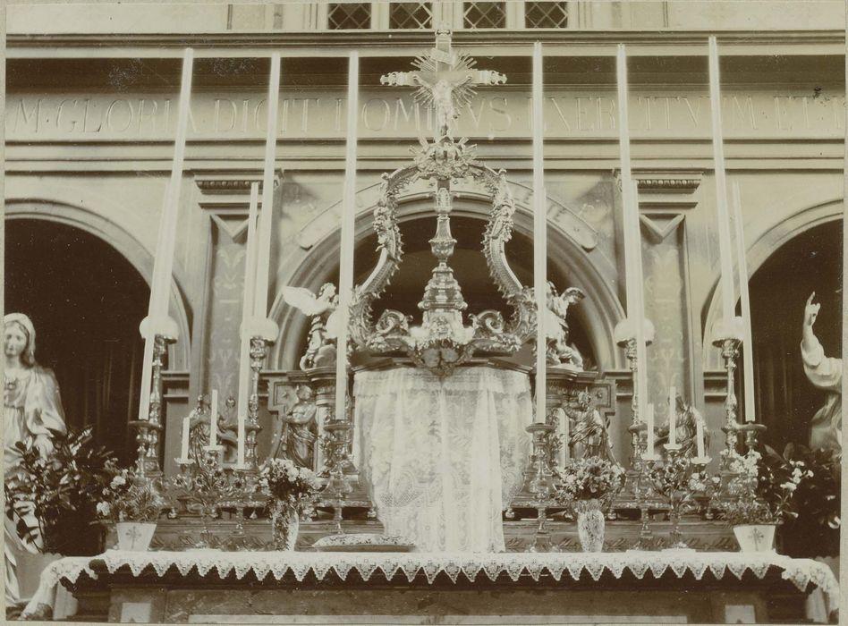 Tabernacle du maître-autel de la grande chapelle