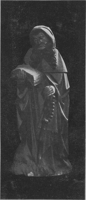 Statue : saint Antoine abbé