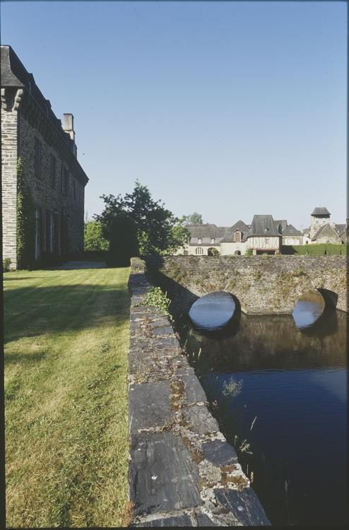 Château et douve