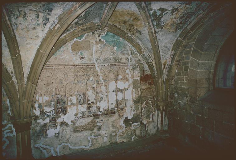 Peintures monumentales de la salle capitulaire
