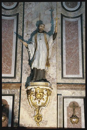 Statue sur console : Saint Gaëtan