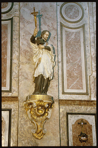 Statue sur console : Saint François-Xavier