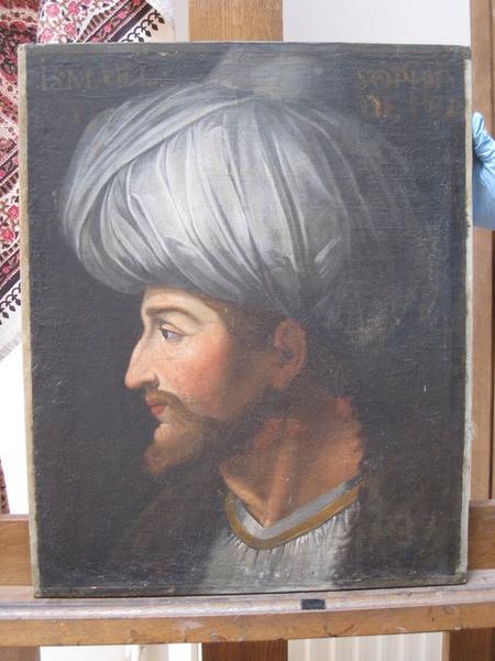 Peinture monumentale de la galerie