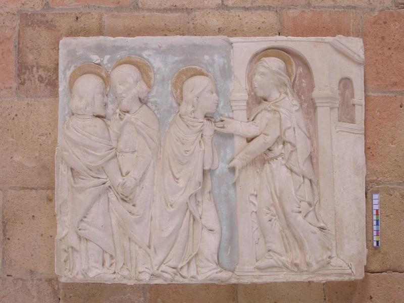 Autel secondaire nord, détail d'un bas-relief