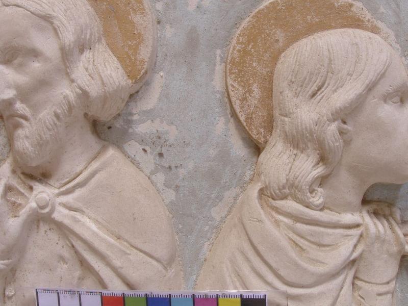 Autel secondaire nord, bas-relief, détail