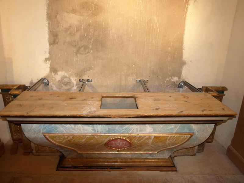 Retable du Rosaire, détail de l'autel