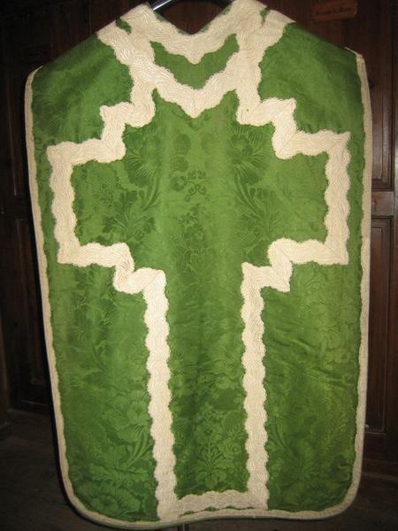 Chasuble (ornement vert), vue générale