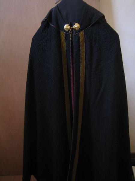 Chape (ornement noir), vue générale