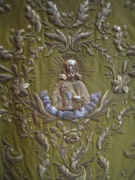 Chasuble (ornement jaune), détail