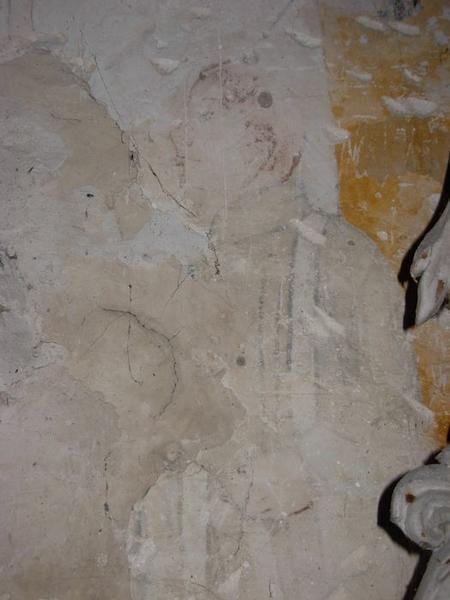 Peinture monumentale, chapelle nord, détail