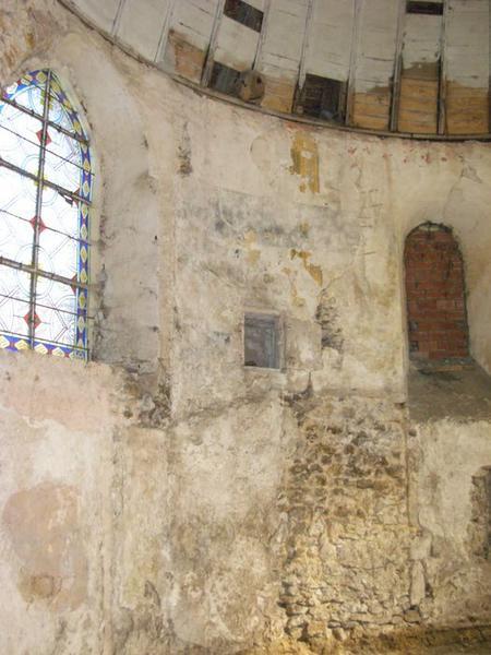 Peinture monumentale, nord-est, vue générale: saint Sébastien