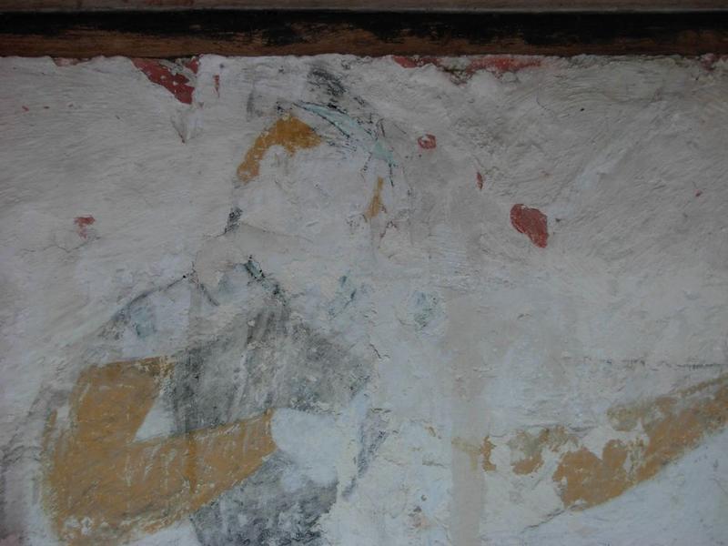 Peinture monumentale, sud-est: saint Martin, détail