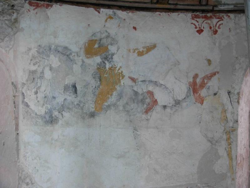 Peinture monumentale, sud-est: saint Martin, vue générale
